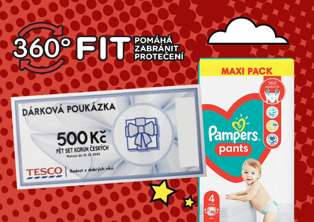 Pampers Tesco