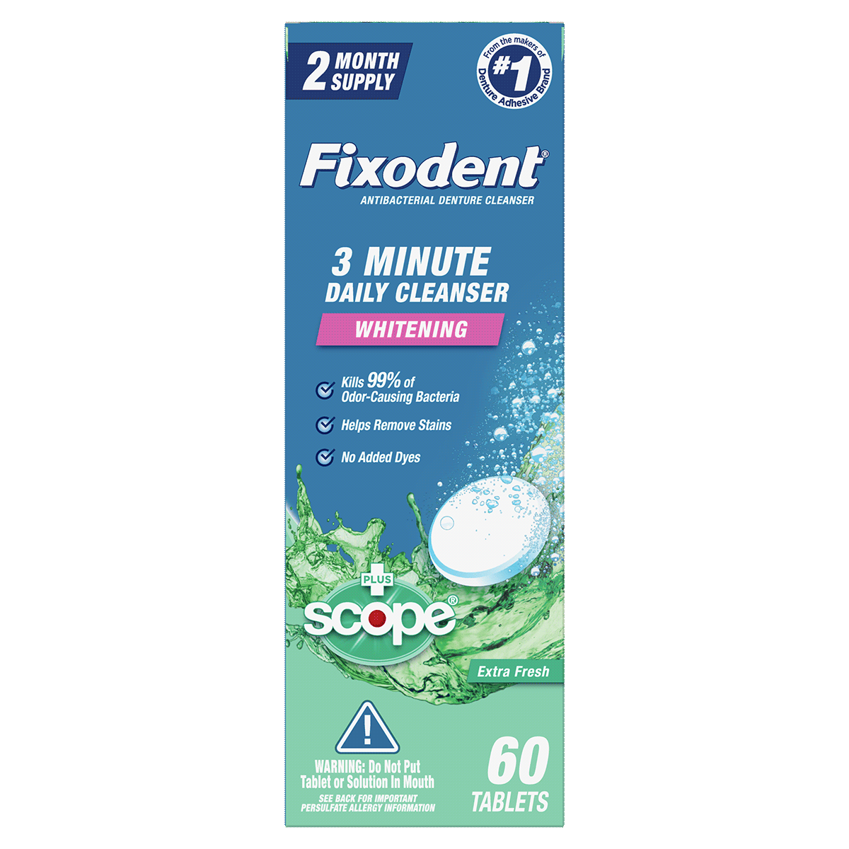 Fixodent 3 Minute Cleanser - Variant 1 Img
