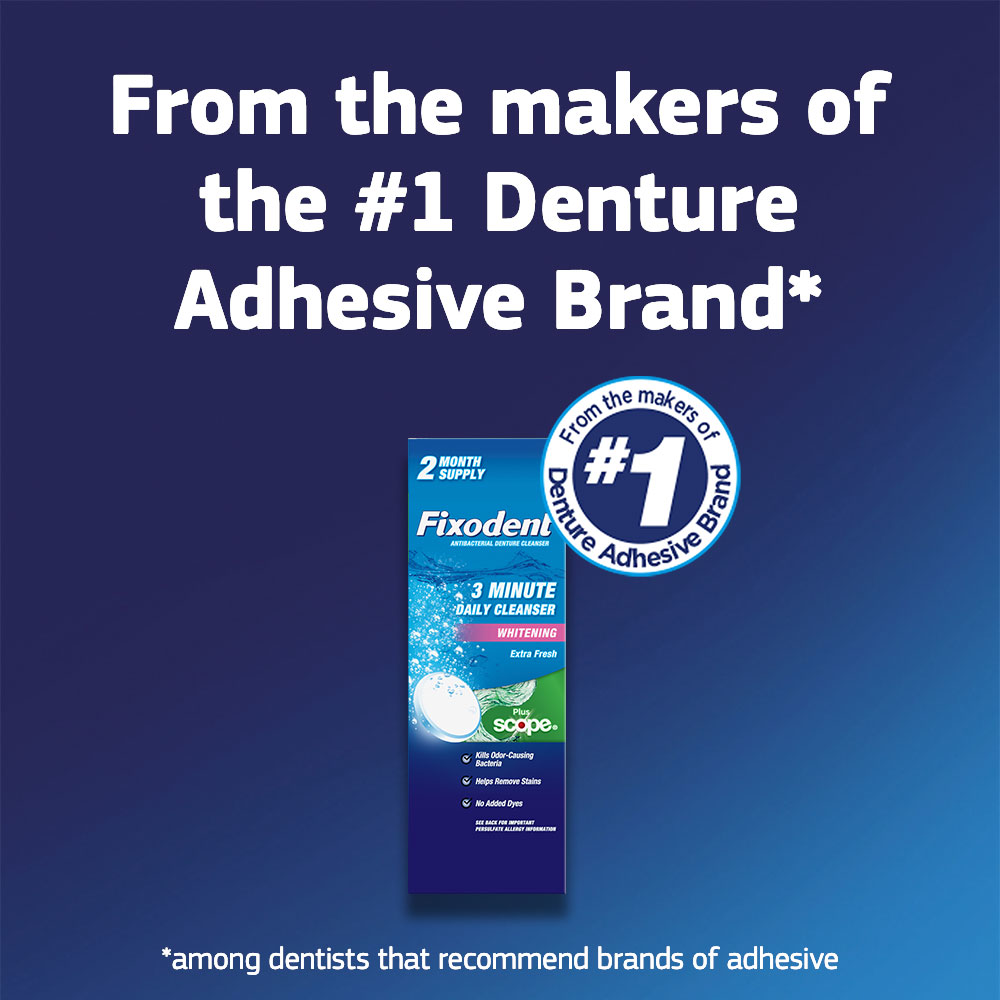 Fixodent 3 Minute Cleanser - SI Img 5