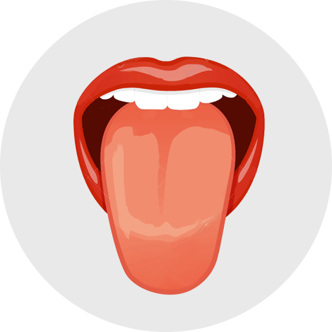 Inflamed tongue (27%)