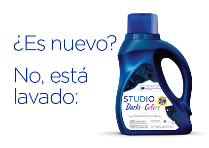 Is it new? No, it's washed in: Studio by Tide Darks and Colors