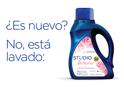 Is it new? No, it's washed in: Studio by Tide Delicates