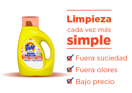 Tide Simply Odor Rescue Liquid Laundry Detergent - Clean just got simpler: dirt out, odor out, low price.
