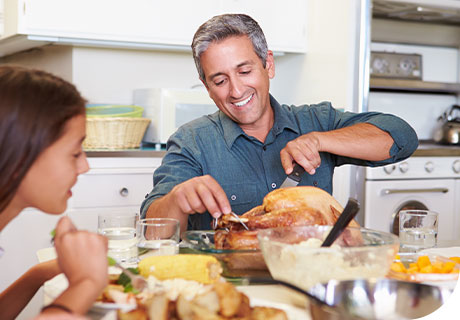 Eating with dentures means eating with confidence