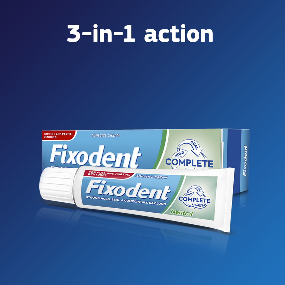 Fixodent Complete Neutral Denture Adhesive