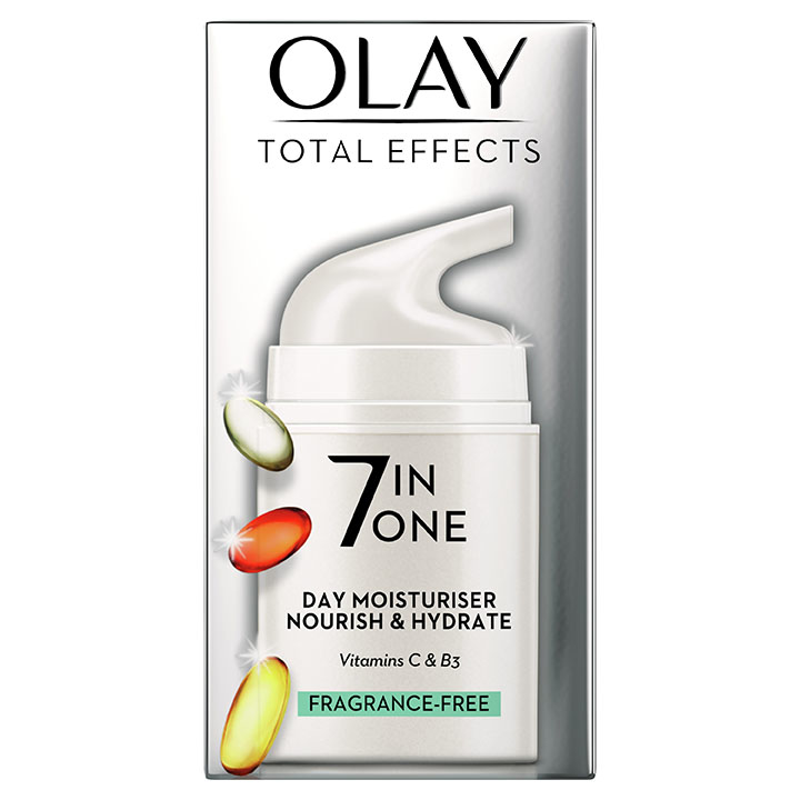 Olay Total Effects Fragrance Free Moisturiser - image NEW primary