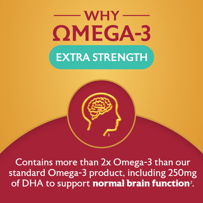 Why Omega-3 Extra Strength