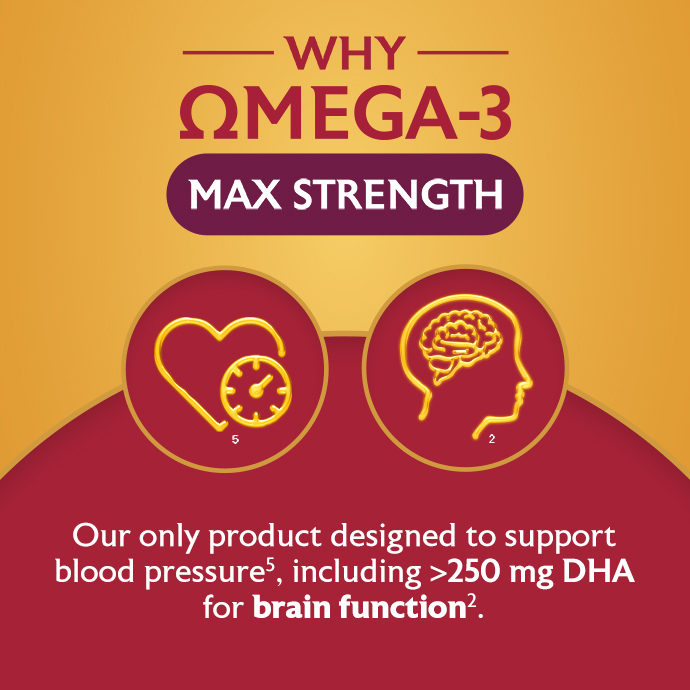 Why Omega-3 Max Strength?