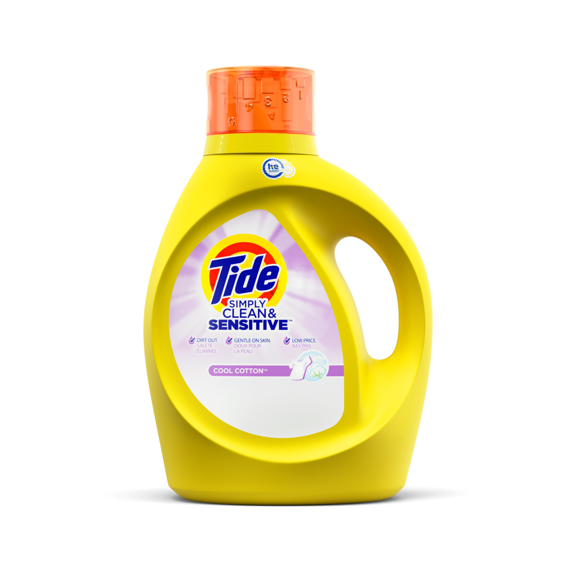 Tide Simply Clean and Sensitive Liquid Laundry Detergent