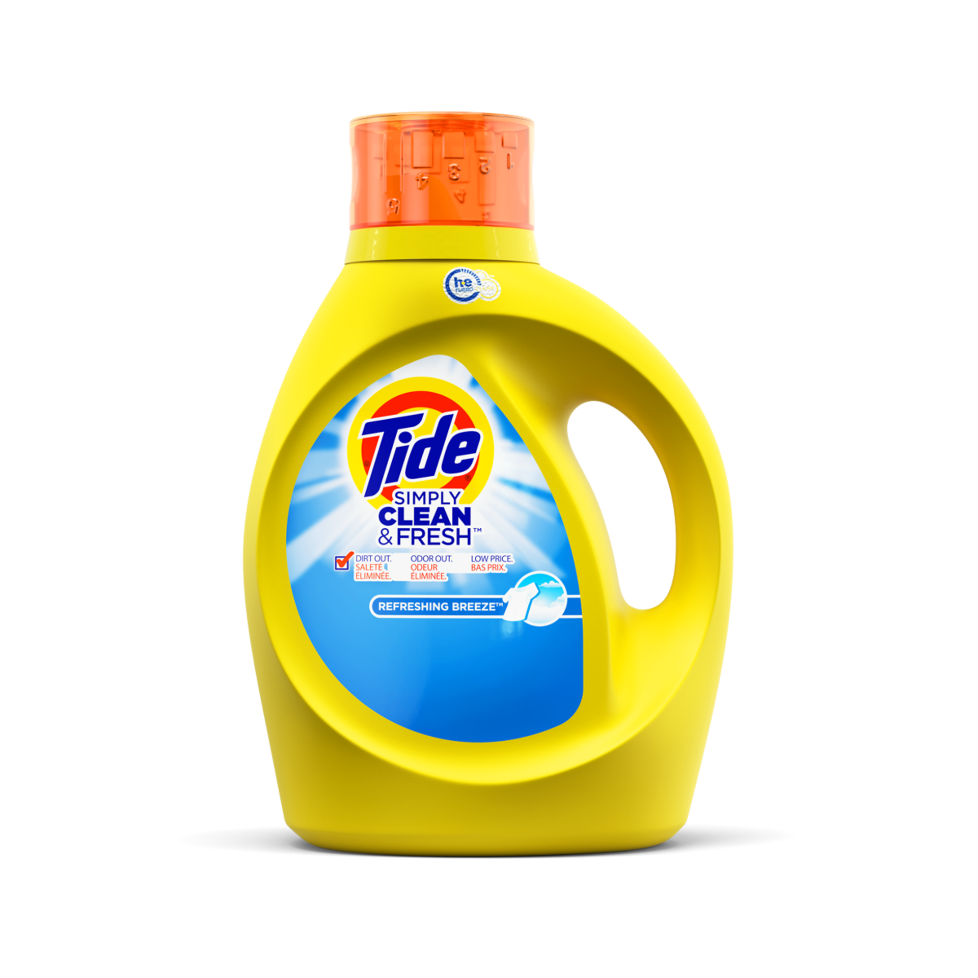 Tide Simply Clean and Fresh Liquid Laundry Detergent