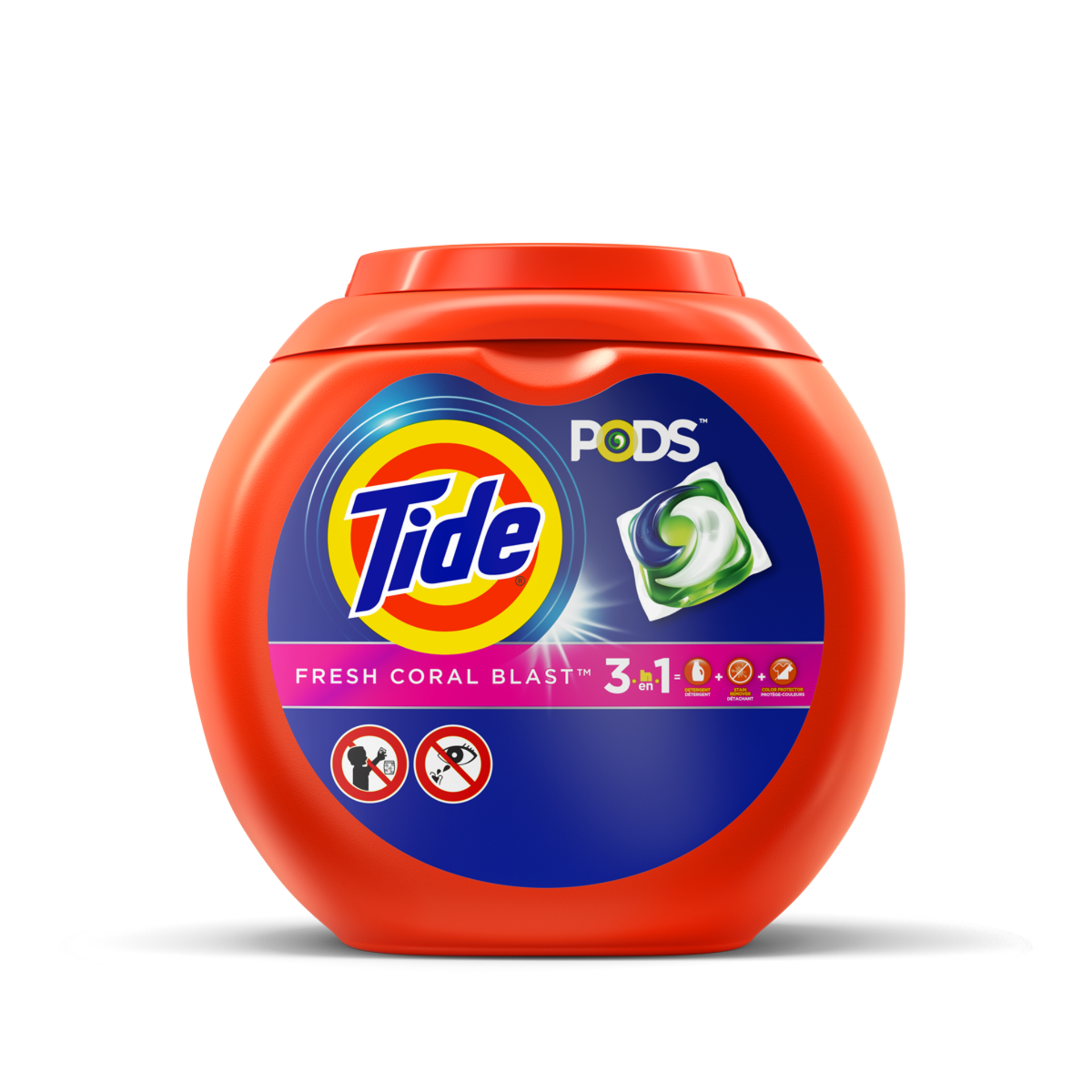 Tide PODS® Laundry Detergent Fresh Coral Blast Scent