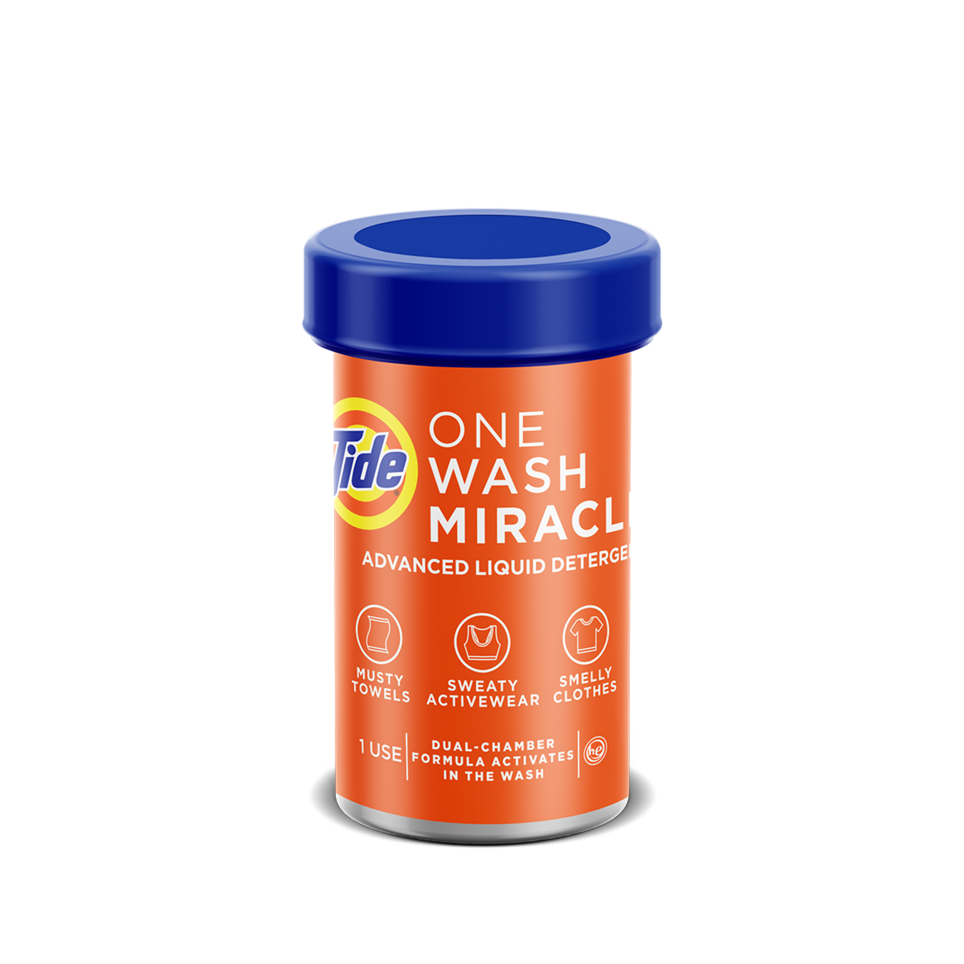 Tide One Wash Miracle - Powerful Deep-Cleaning Laundry Solution