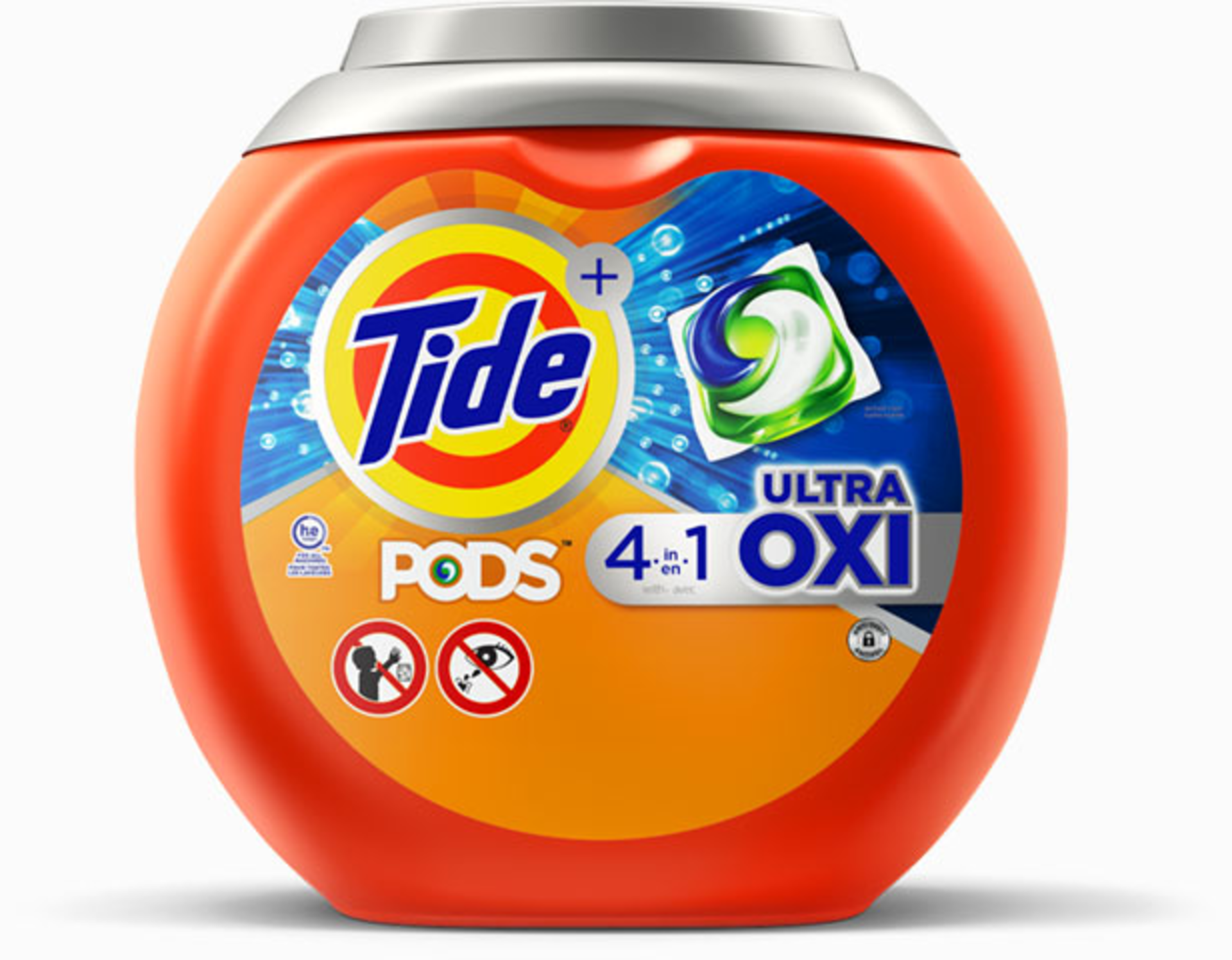 Tide PODS® Ultra OXI Laundry Detergent