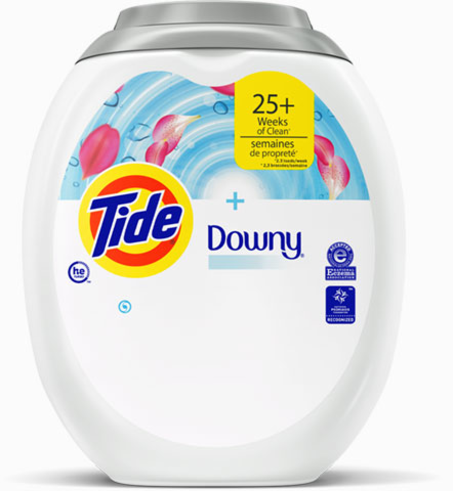 Tide PODS®Plus Downy FreeLaundry Detergent Pacs