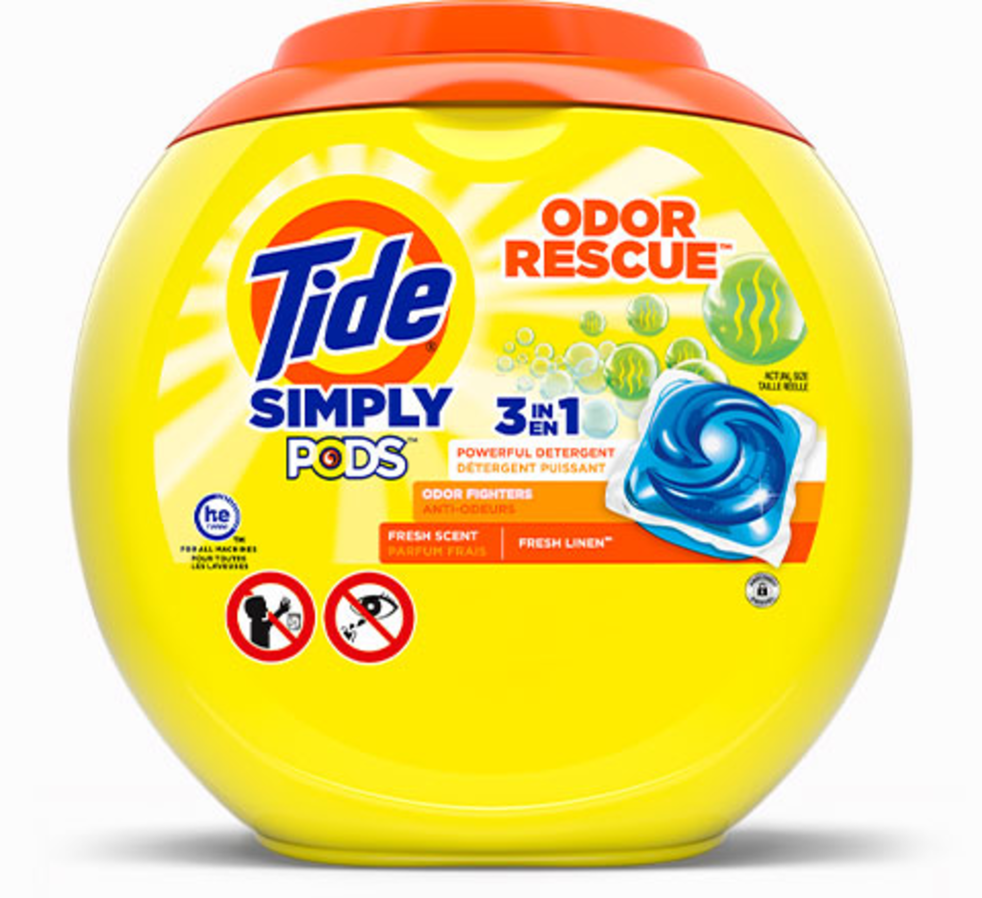 Tide Simply PODS® Odor Rescue Liquid Laundry Detergent Pacs