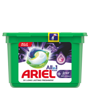 Ariel All-in-1 PODS +Lenor Unstoppables
