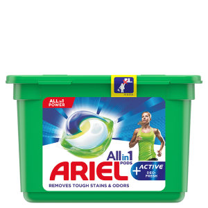 Ariel All-in-1 PODS + Odour Defence