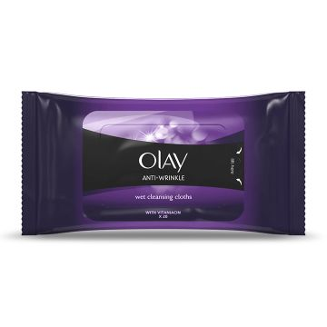Anti-Wrinkle Wet Cleansing Cloths