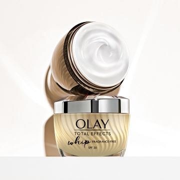 Olay Total Effects Whip SPF30 parfumvrij