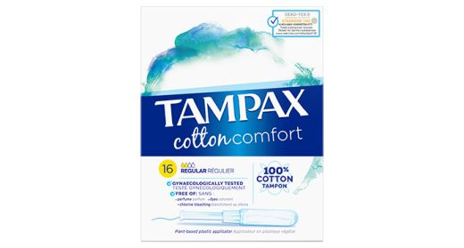 Tampax Cotton Protection