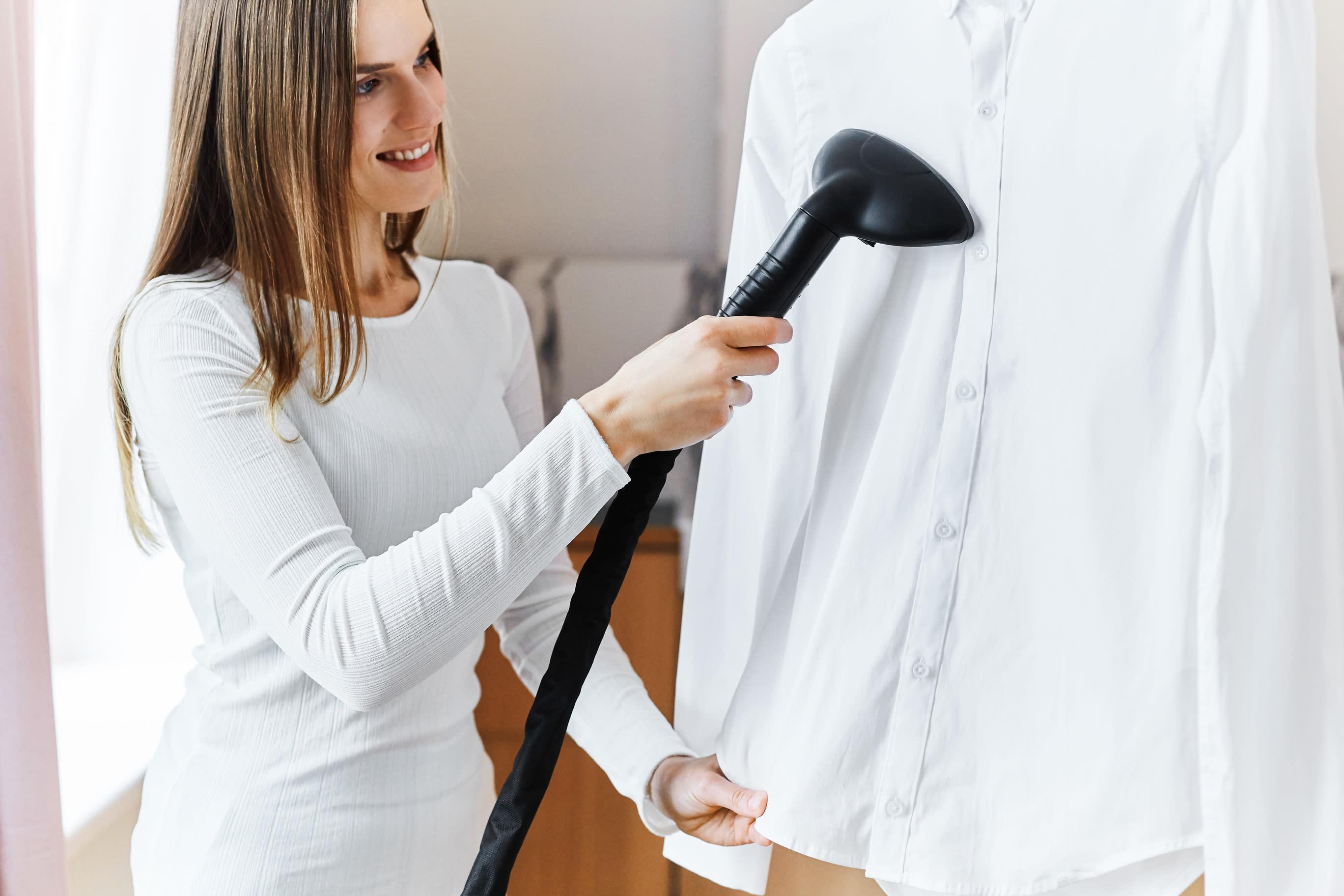 prasowanie bawełnianej koszuli