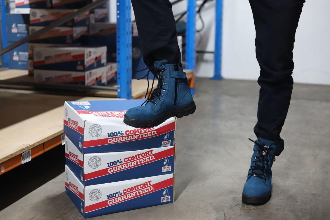 Boot the Blues - Beyond Blue 300k milestone - Steel Blue