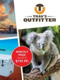 Win a trip to Australia with </br> Trav's Outfitters!