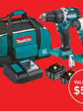 Win a Makita Drill Kit with </br> Steel Blue