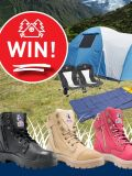 Win a Camping Prize Pack with </br> Steel Blue