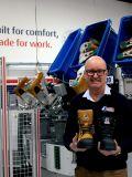 Australian manufacturer, Steel Blue produces world-first graphene safety boot.