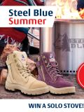 Steel Blue Summer </br> Win a Solo Stove