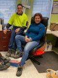 Steel Blue step up to protect Foodbank Bunbury volunteers.