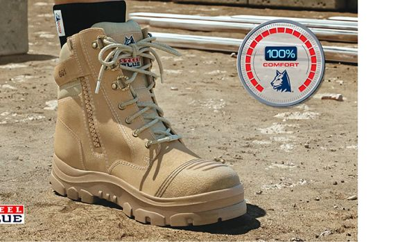 49853733fd2 Steel Blue Work Boots Use The Latest Technology For Comfort