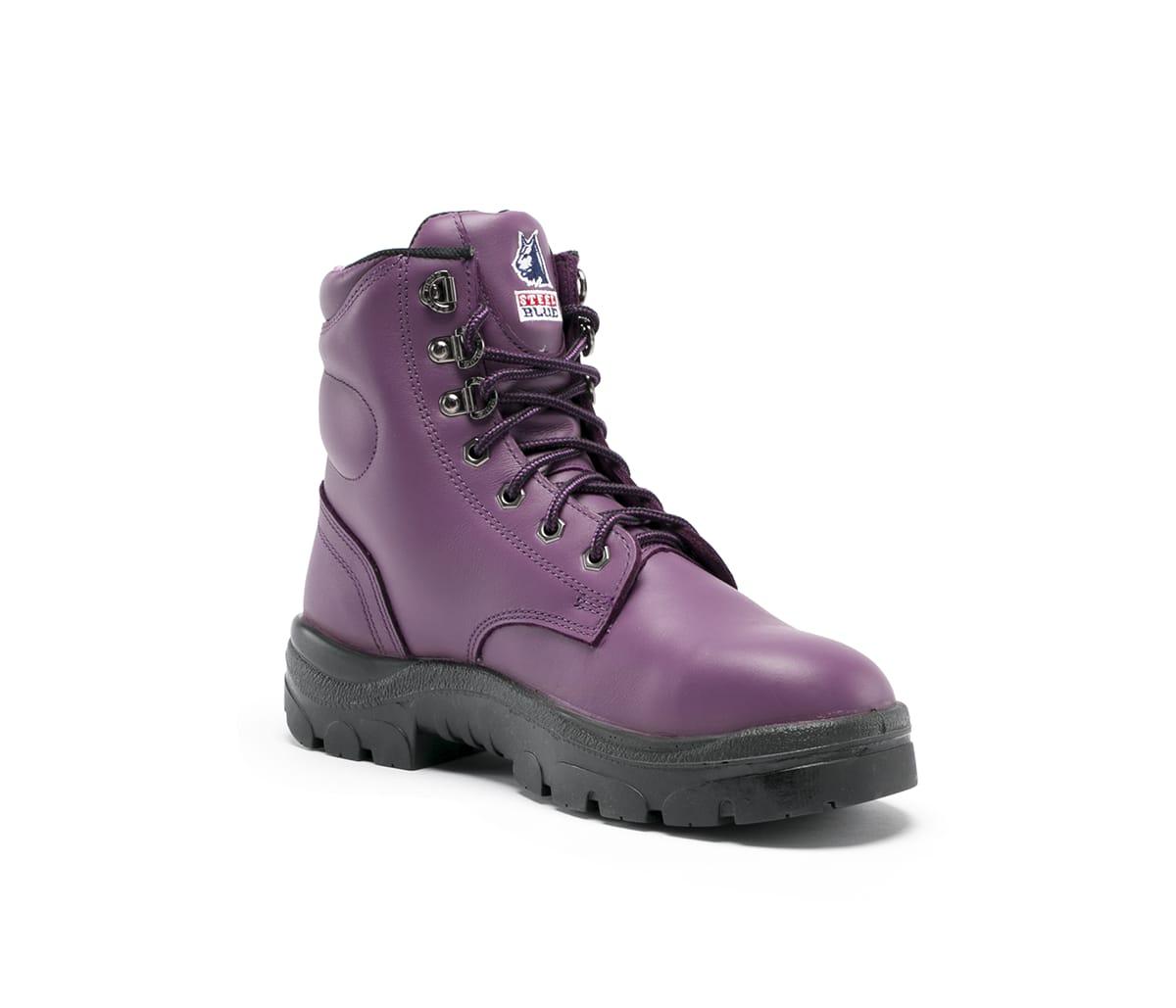 Argyle Ladies - Purple