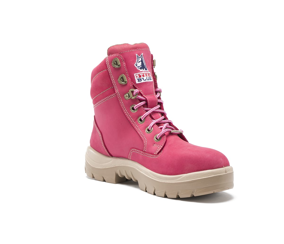 aa6c36ebe962 Southern Cross Ladies Pink Work Boots