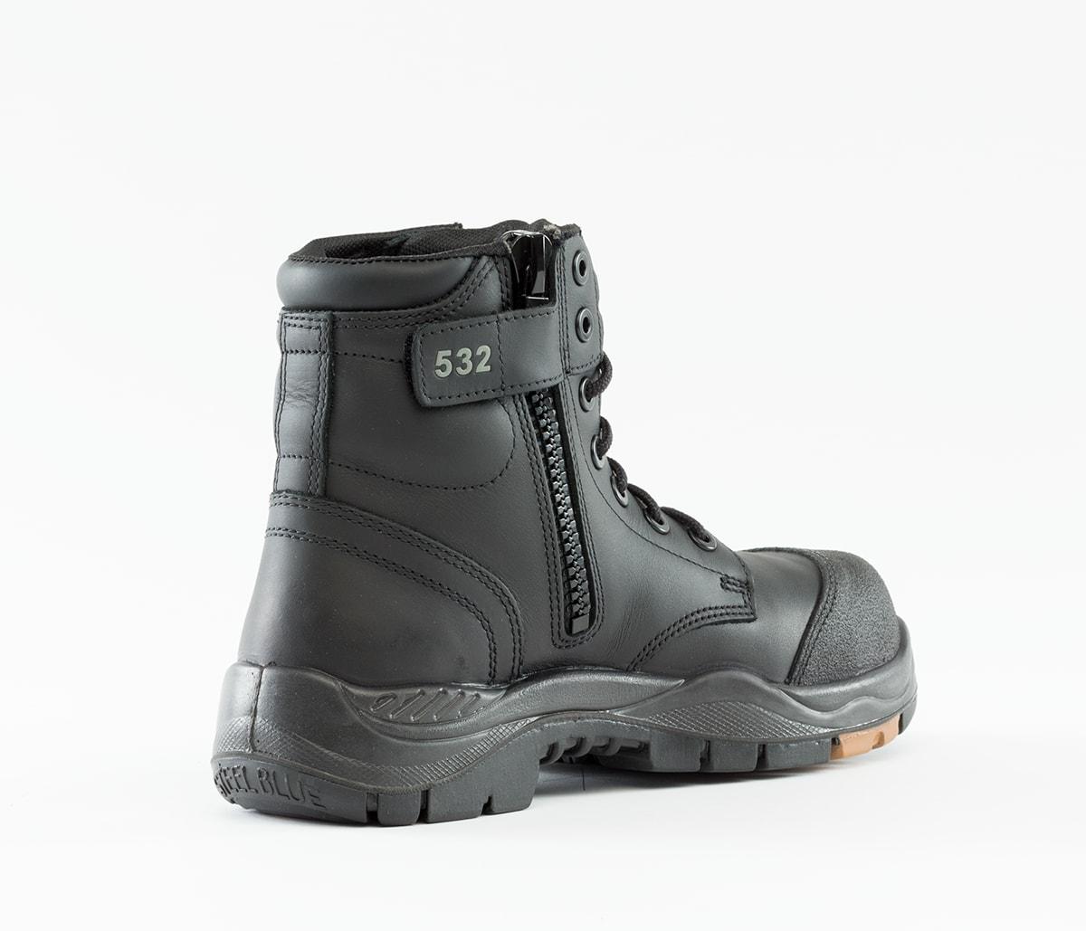 Argyle Zip: Composite - Black