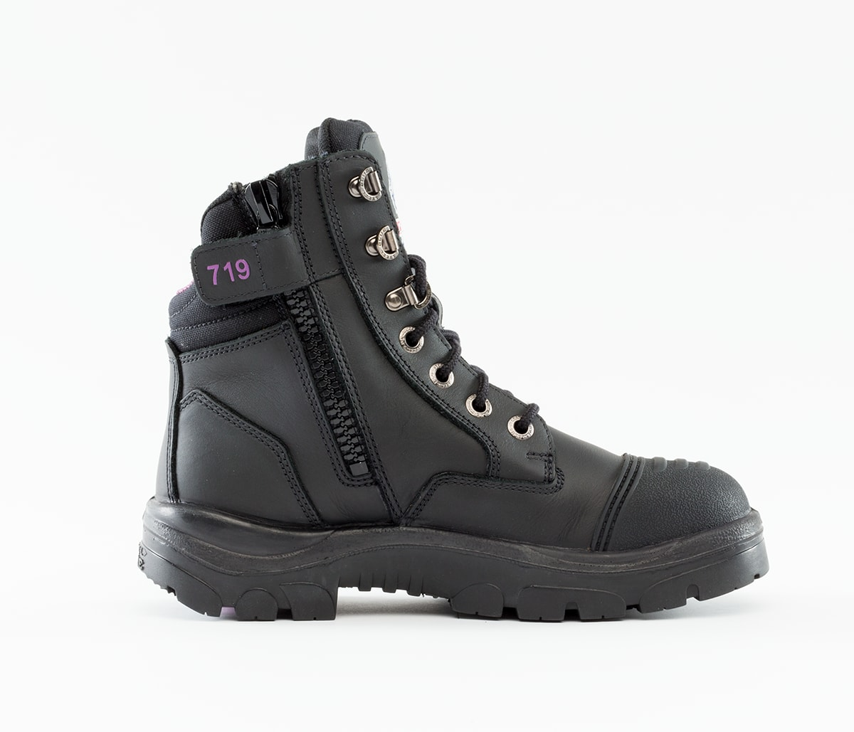 Southern Cross Zip Scuff Ladies - Black