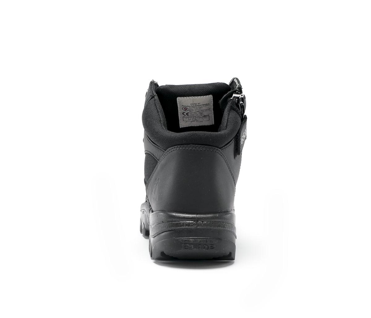 Parkes Zip: Scuff Cap - Black