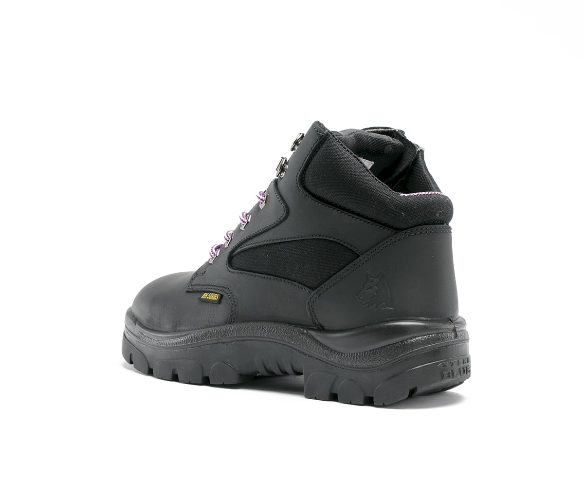 Parkes Zip Ladies TPU - Black