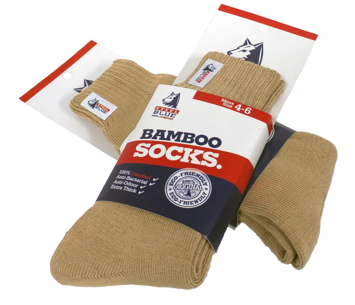 Bamboo Socks - Sand