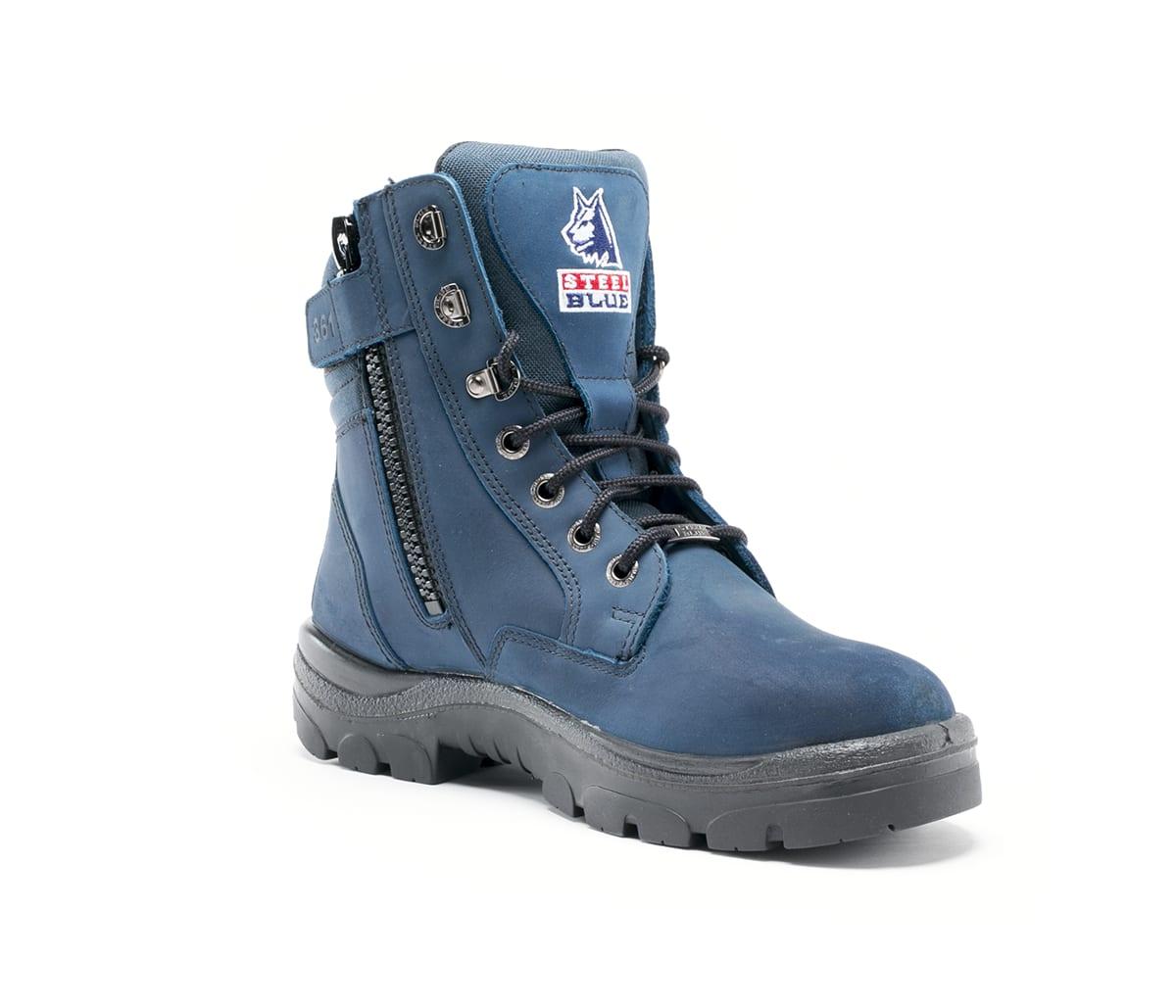 Southern Cross® Zip Blue Work \u0026 Safety
