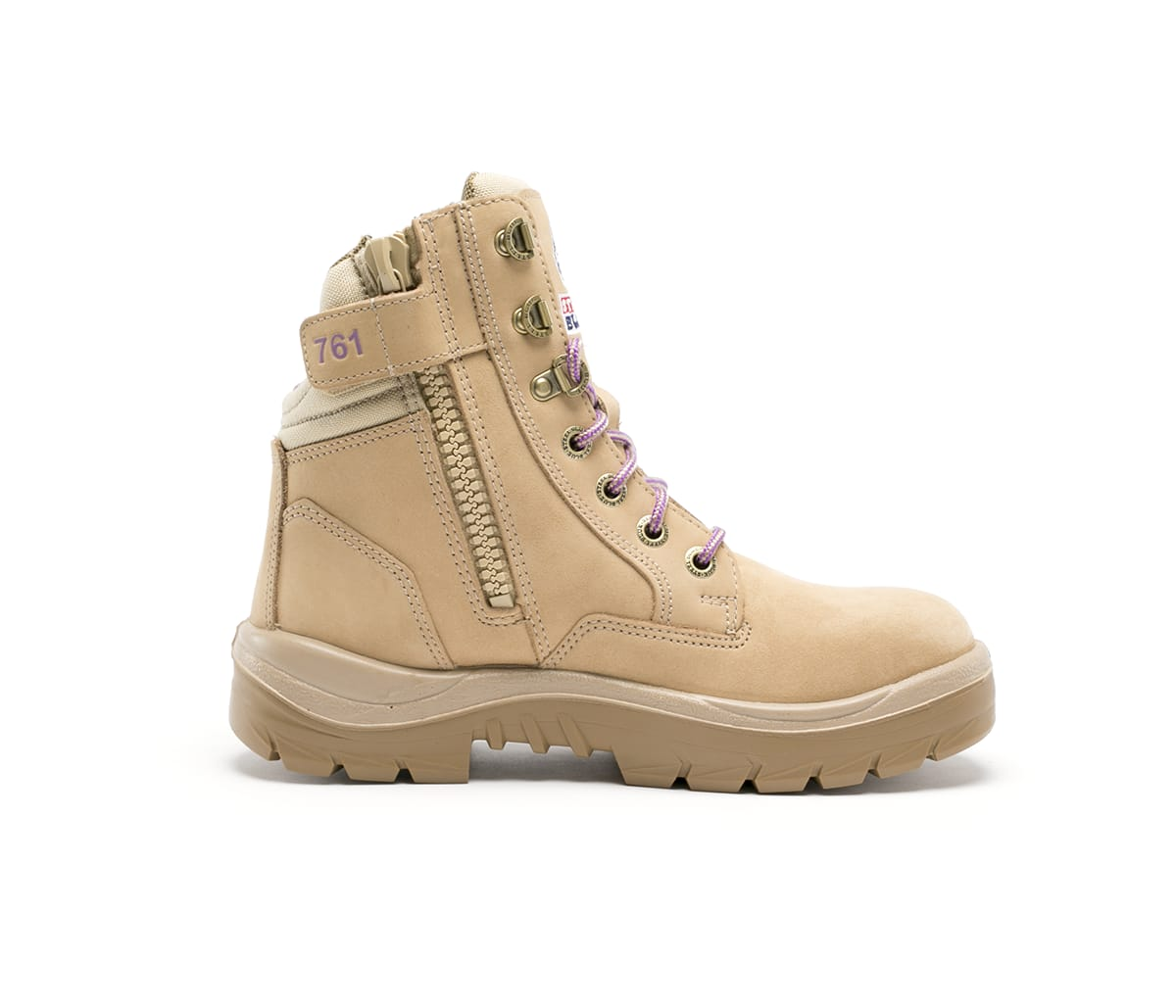 Southern Cross® Zip Ladies: Nitrile Outsole - Sand