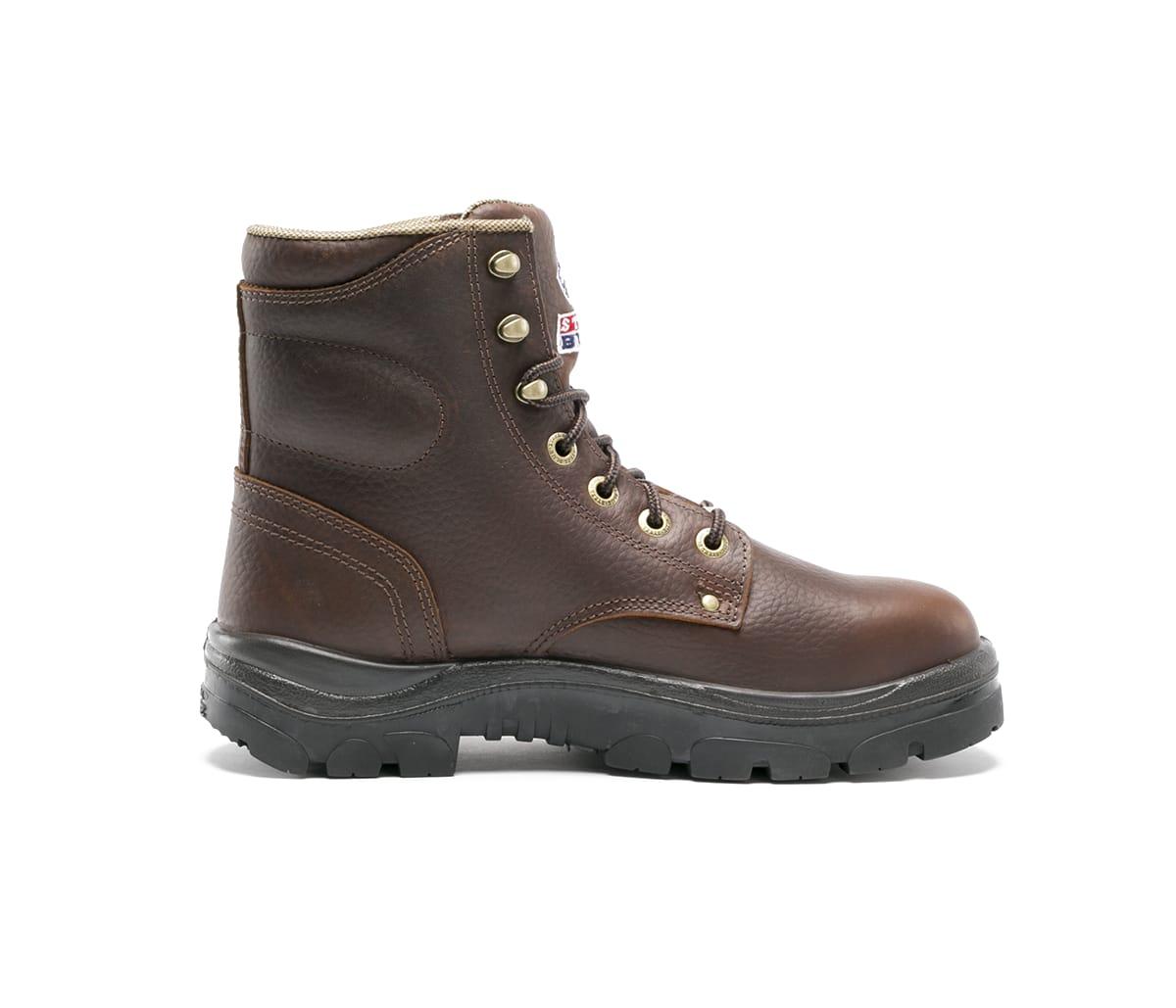Steel Blue Work Boots Men S Boots Argyle 100 Comfort