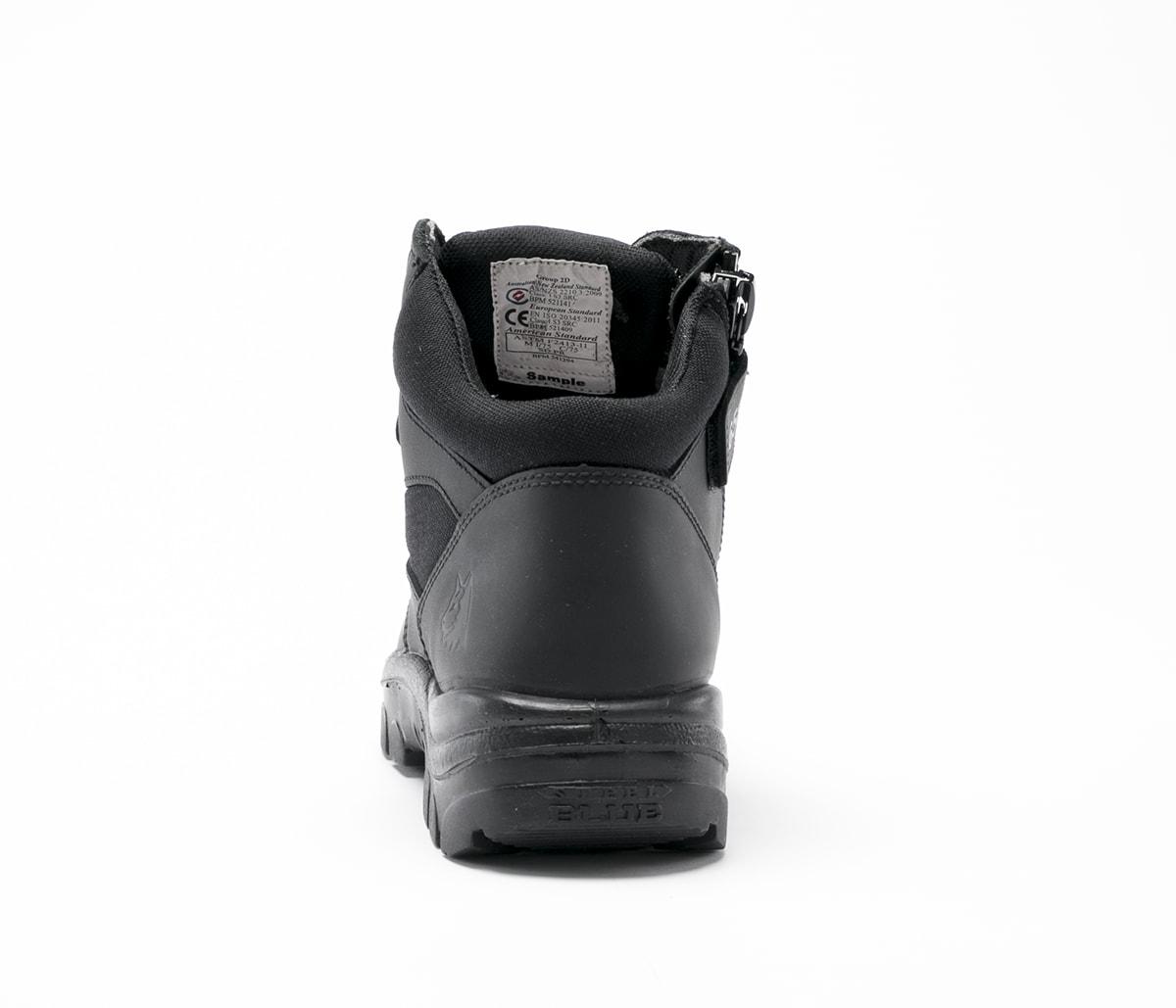 Parkes Zip Scuff S3 - Black