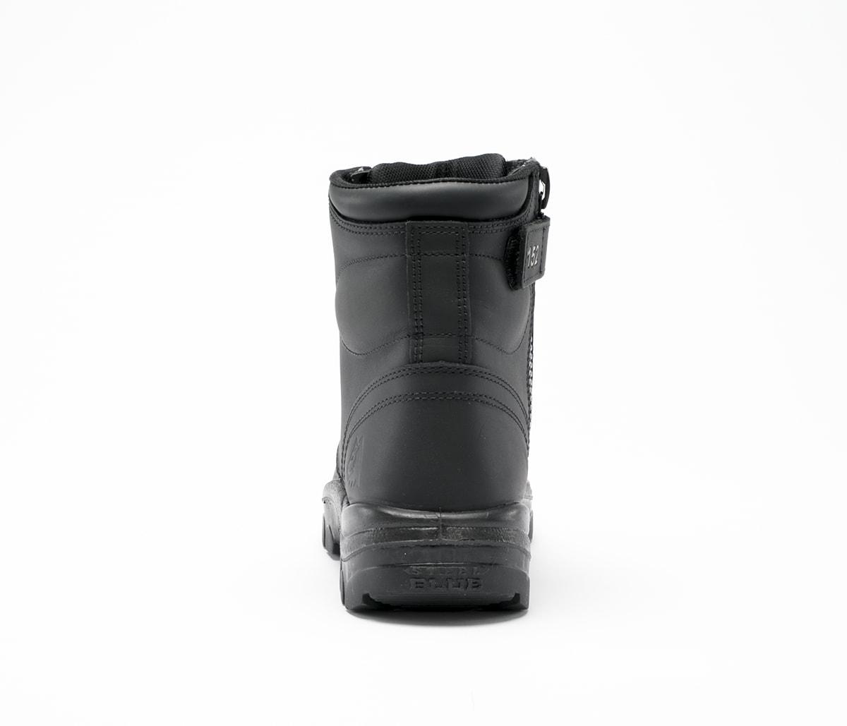 Argyle Zip - Black