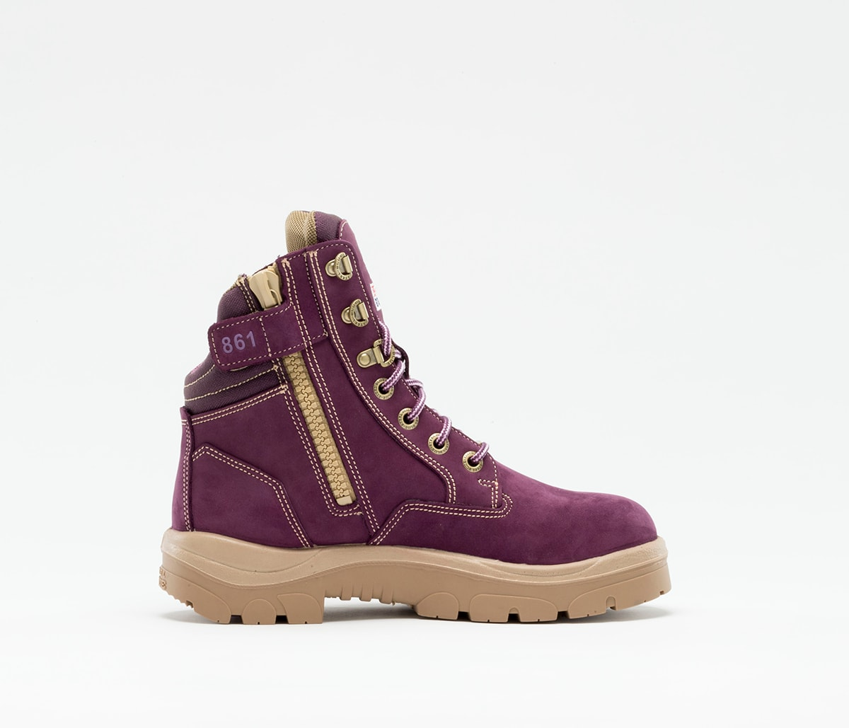 Southern Cross Zip Ladies: PR Midsole - Purple