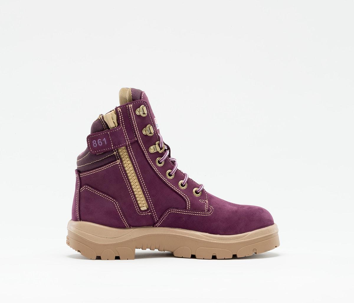 Southern Cross Zip Ladies: PR Midsole - Purple