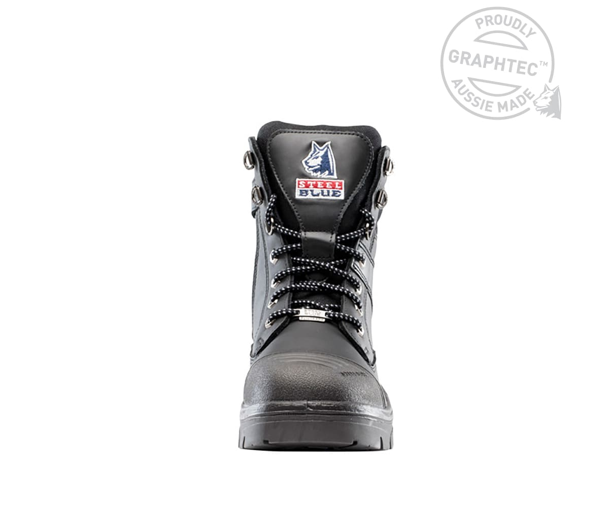 Southern Cross® GraphTEC™ Zip with Graphene Scuff Cap & Outsole - Black