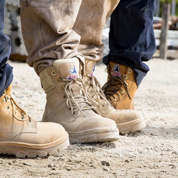 exceptional range of styles special discount new style Steel Blue Work Boots Are 100% Comfort Guaranteed | Steel ...