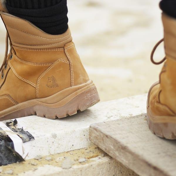 Steel Blue Boots - 100% Comfort